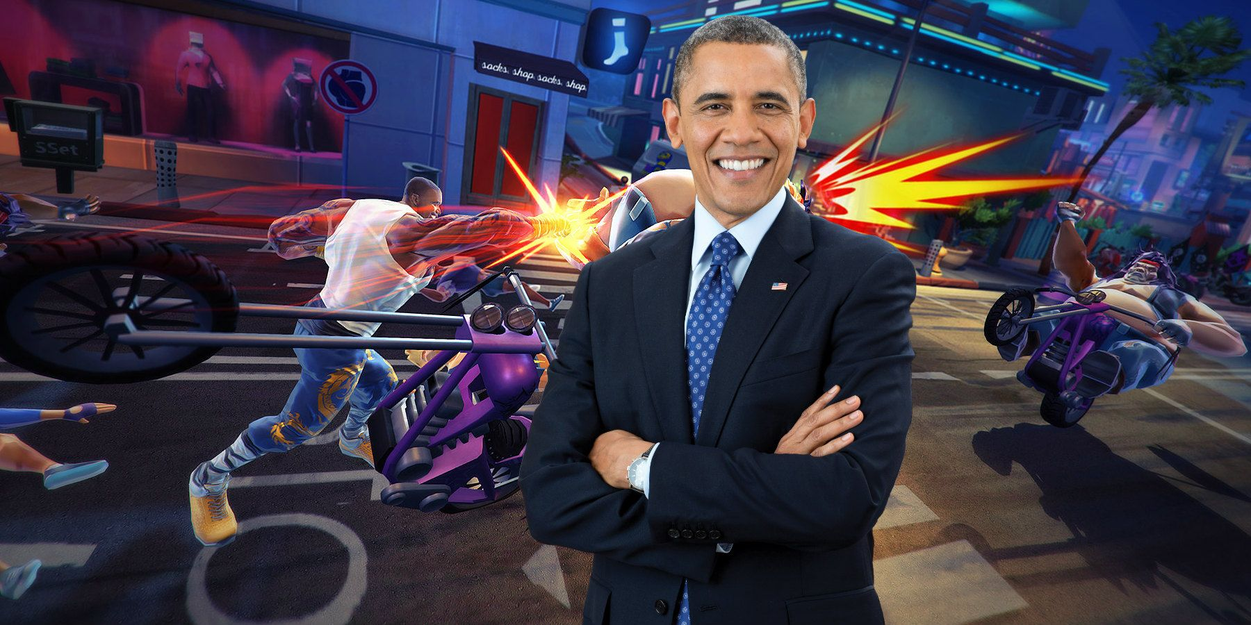 Shaq-Fu DLC Lets You Fight Kanye as Obama
