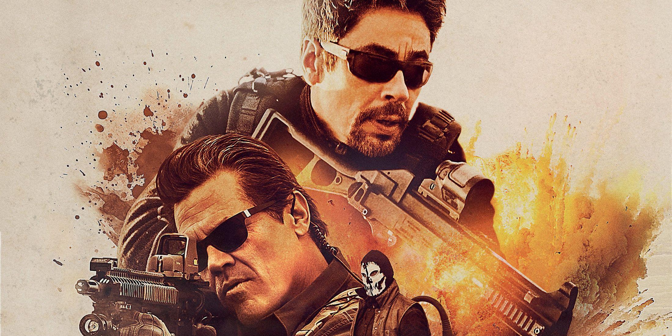 Sicario day of the soldado movie review screenrant - Sicario wallpaper ...