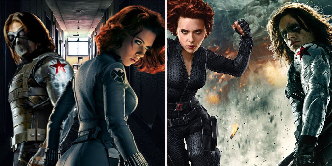 20 Crazy Details Behind Black Widow And Winter Soldier's