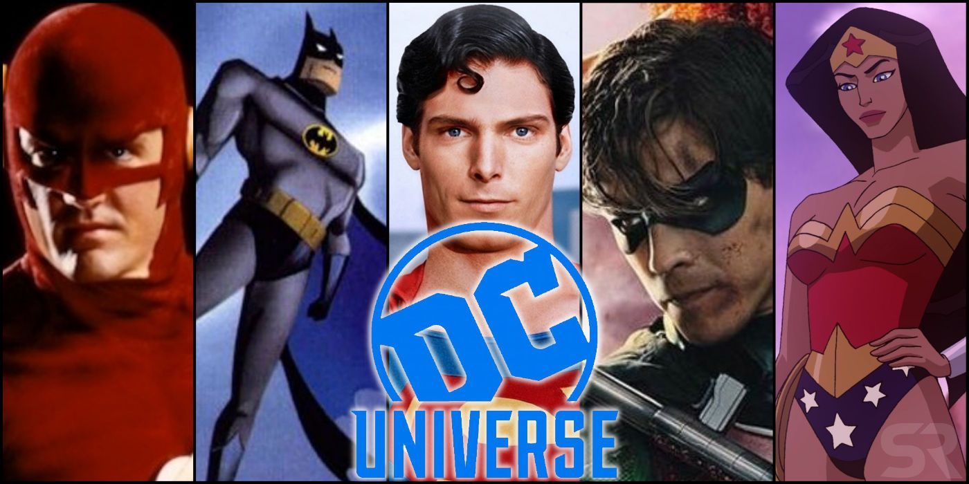 dc universe movies tv shows streaming every screenrant