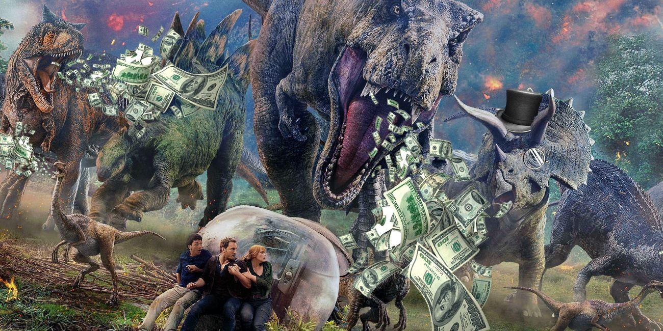 jurassic world  fallen kingdom was a box office success