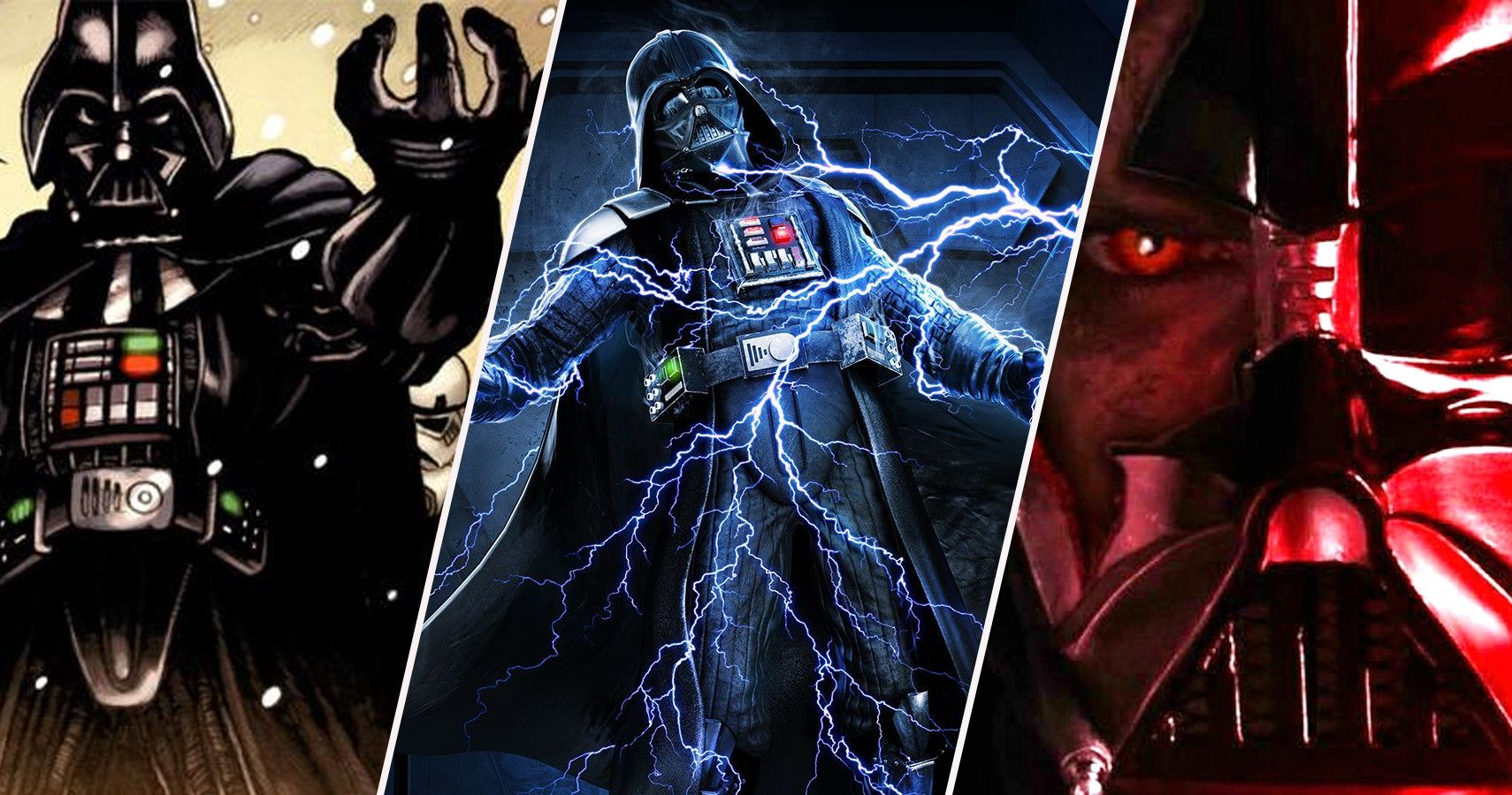 Star Wars: 10 Powers Fans Didn't Know Darth Vader Has
