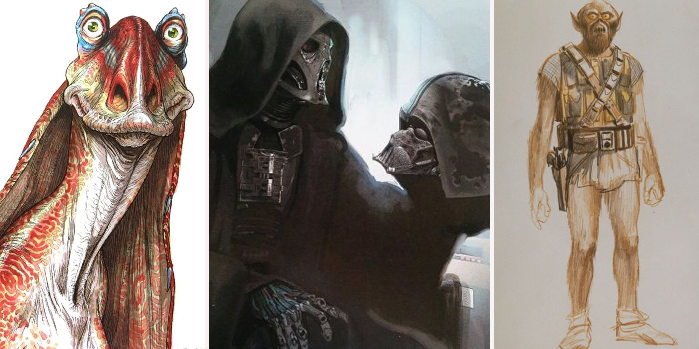 30 Unused Star Wars Concept Art Designs That Would Ve Changed Everything
