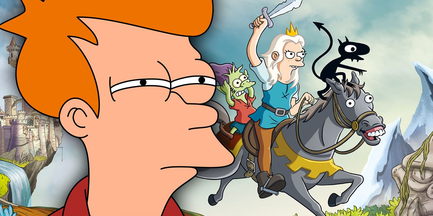 Disenchantment Failed Because It Took The Wrong Lessons From Futurama