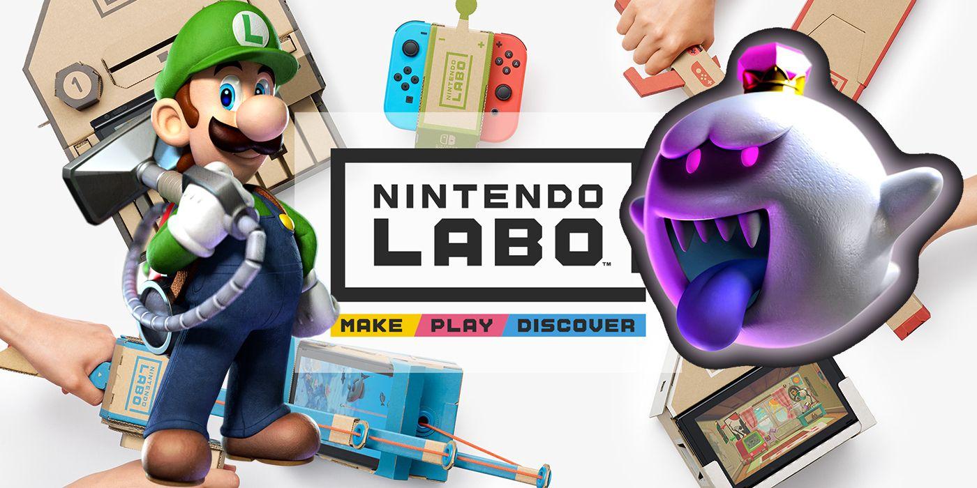 Fan Creates Luigis Mansion Ar Game With Nintendo Labo