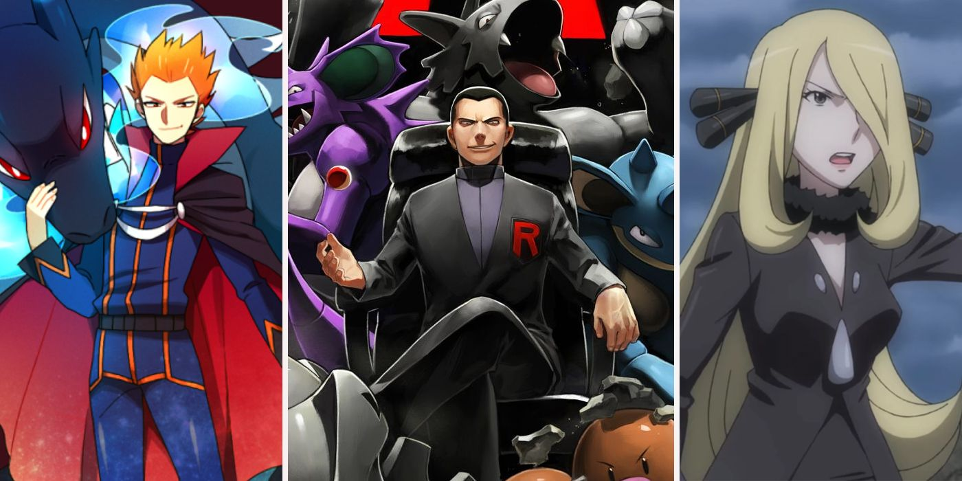 10 Most Powerful Pokémon Trainers (And 10 Who Pose No Challenge)