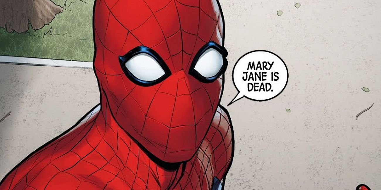 Sorry Spider-Man Fans, Marvel Just Killed Mary Jane | ScreenRant