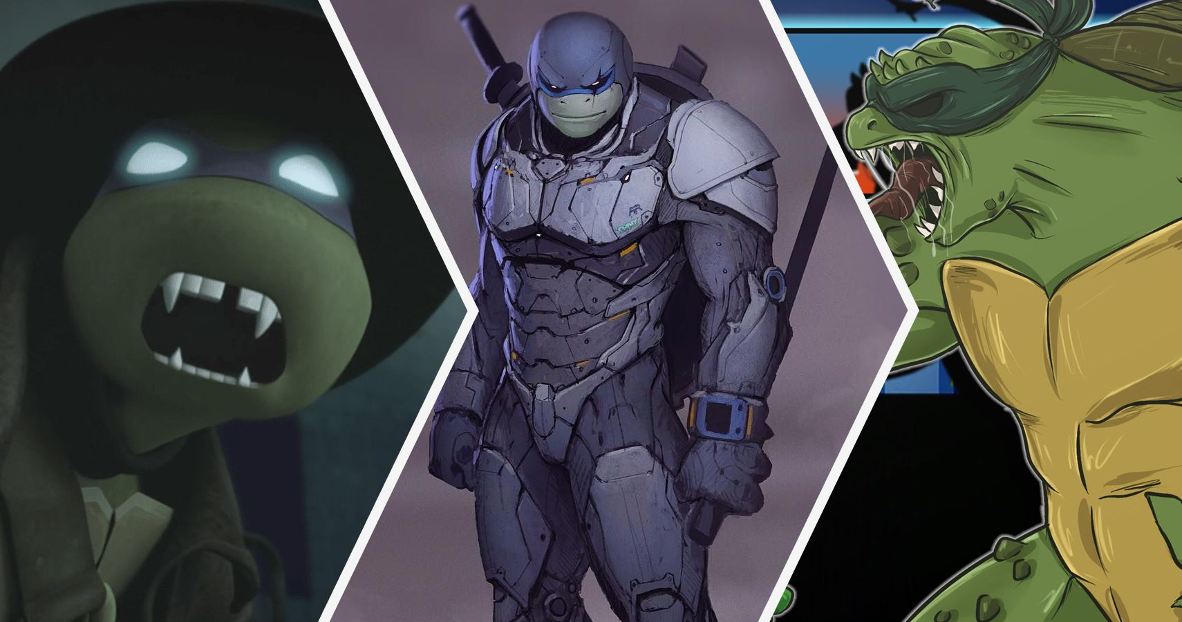 20 Crazy Details About The Teenage Mutant Ninja Turtles Bodies