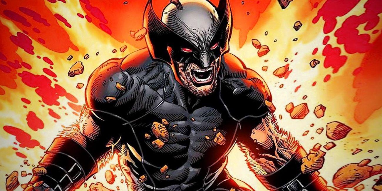 & Wolverineu0027s NEW Black Costume Revealed By Marvel   ScreenRant
