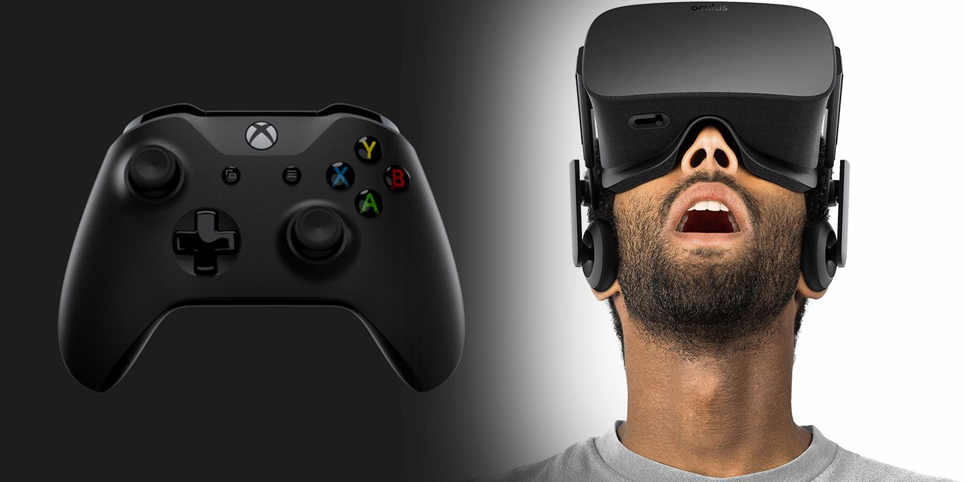 Xbox One Almost Got A Vr Headset Screenrant Head Set
