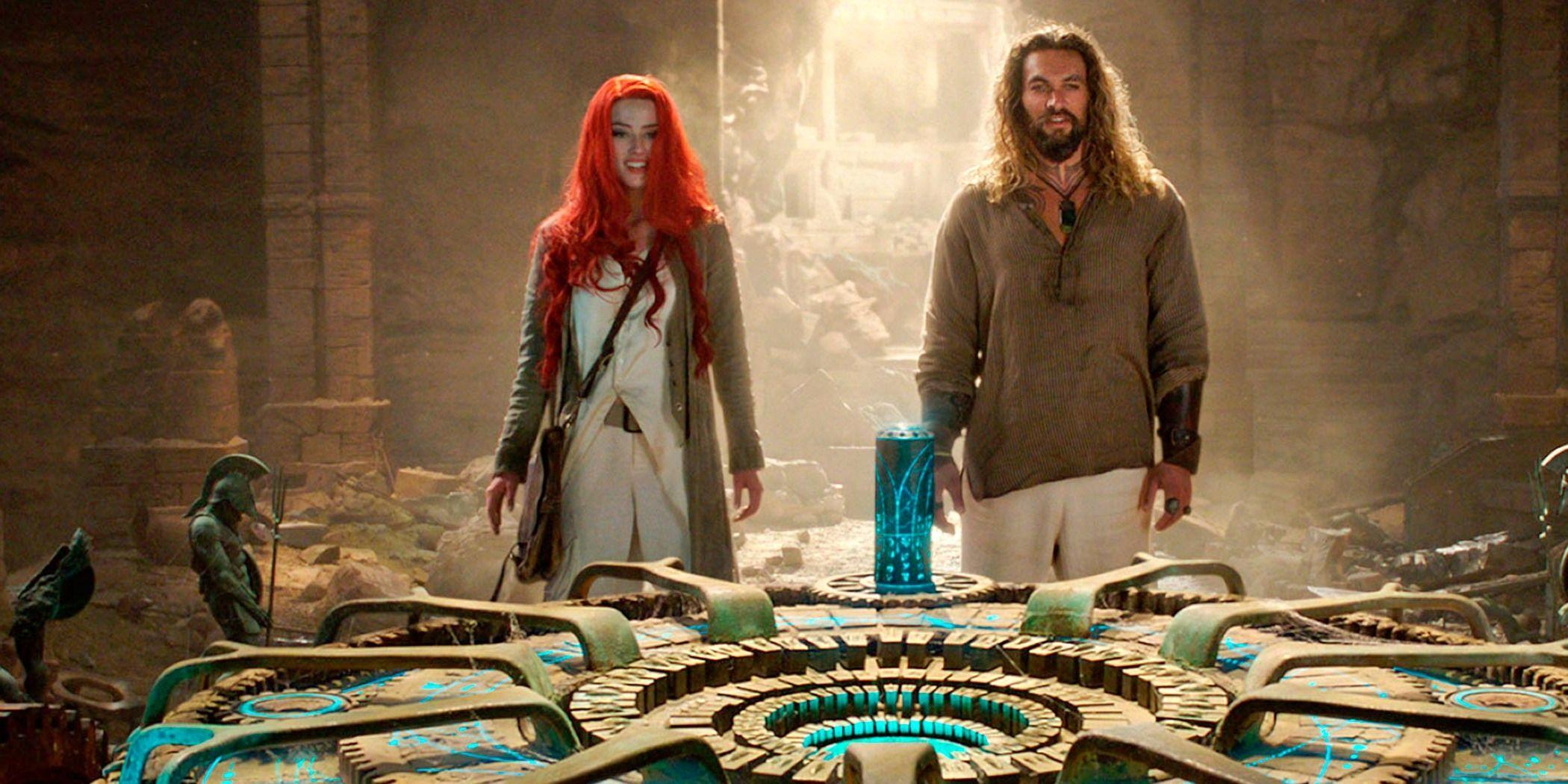 First Aquaman TV Spot Features New Footage Of Arthur & Mera