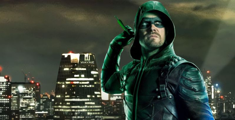 Arrowverse Crossover: Elseworlds Poster Features Wayne Tower