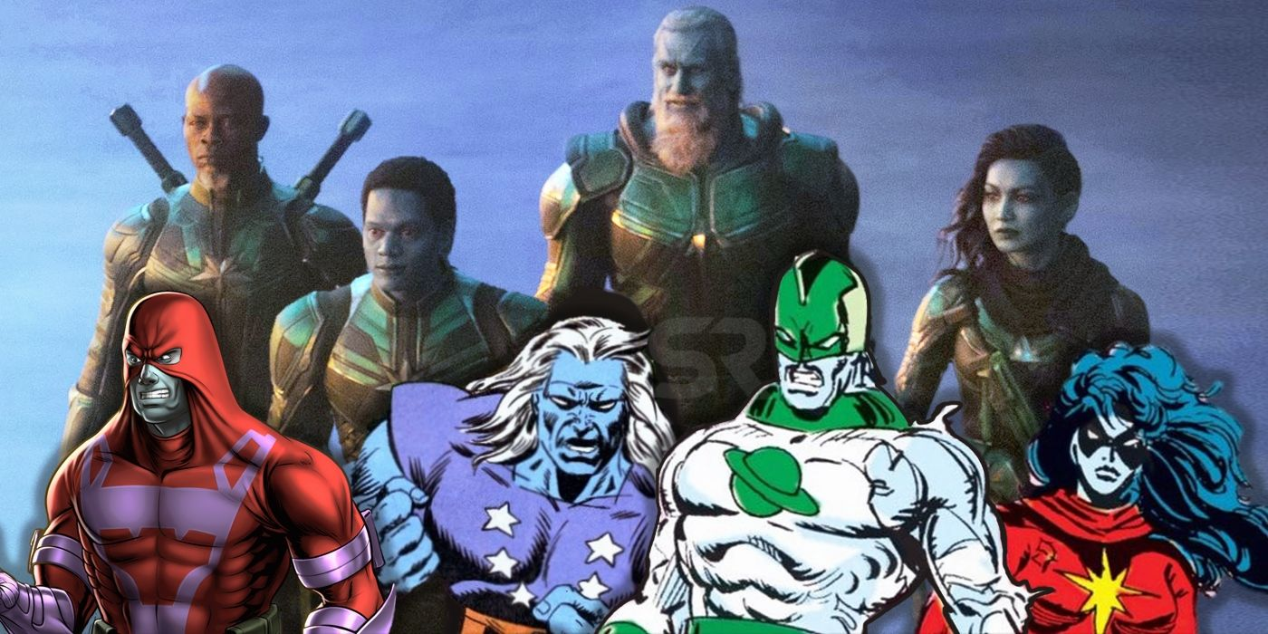 Image result for captain marvel Kree team