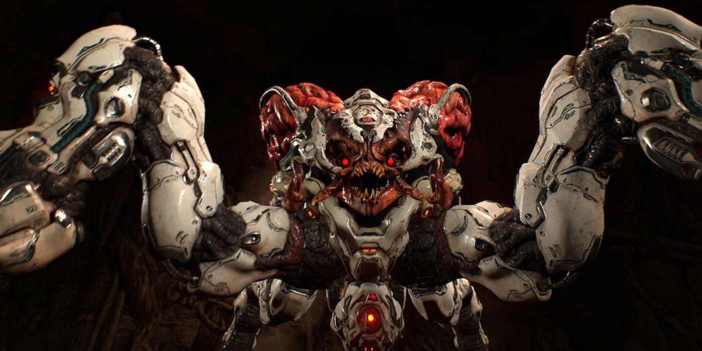 TV and Movie News Doom Movie Director Confirms Spiderdemon