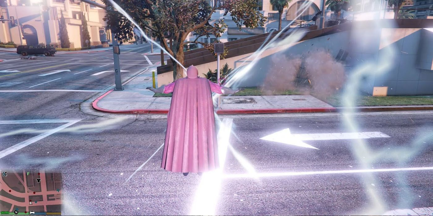 Grand Theft Auto 5 Mod Adds X-Men's Magneto to Los Santos