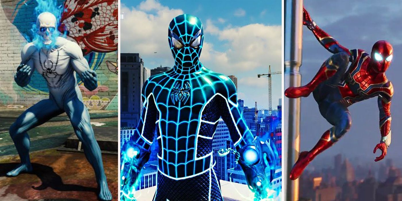 every spider-man ps4 costume, ranked worst to best | screenrant