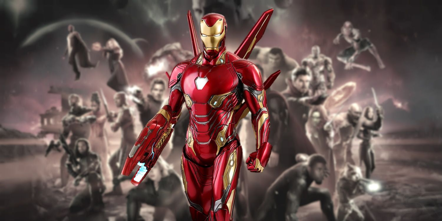 Avengers 4 Iron Man S Armor May Be Radically Different