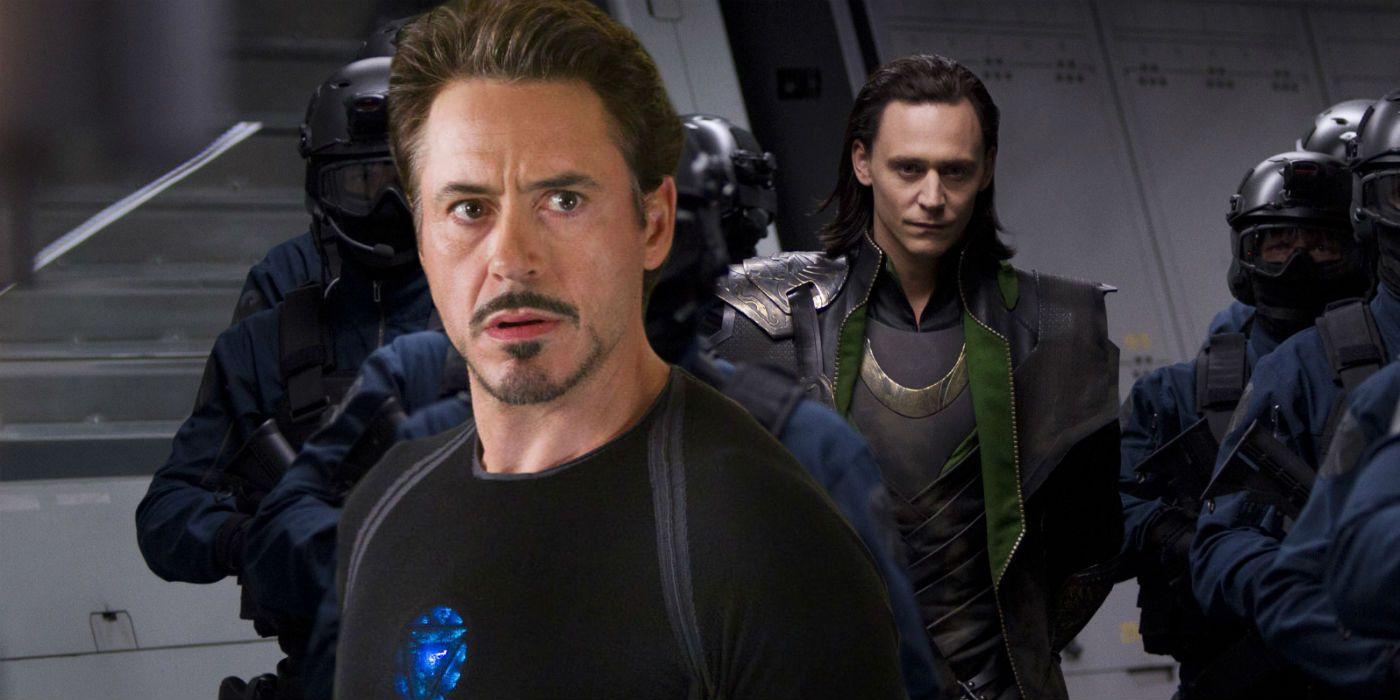Avengers 4 Set Photos Hint At Tony Stark Changing Loki Timeline