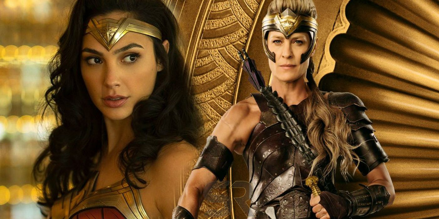 Wonder Woman 2: Robin Wright Returning As Antiope