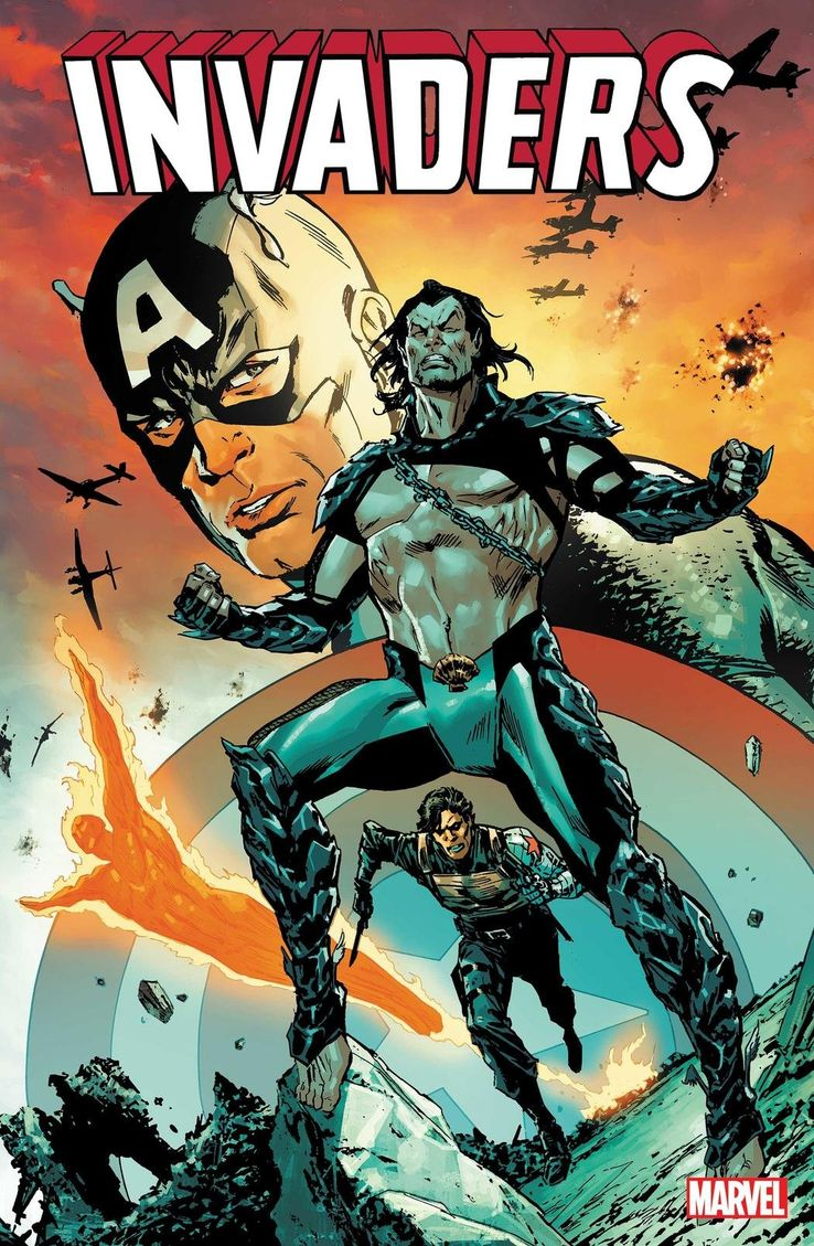 Captain America & Namor Team Up as Marvel's New INVADERS