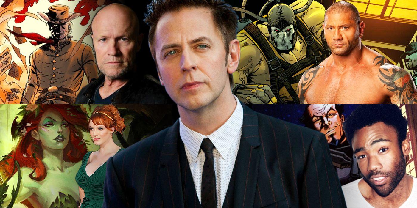 Casting James Gunn's Suicide Squad 2
