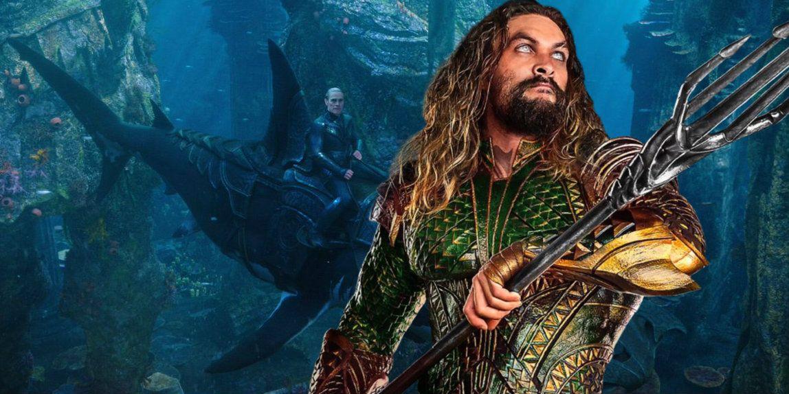 Aquaman: Willem Dafoe's Vulko Rides an Armored Shark in New Image