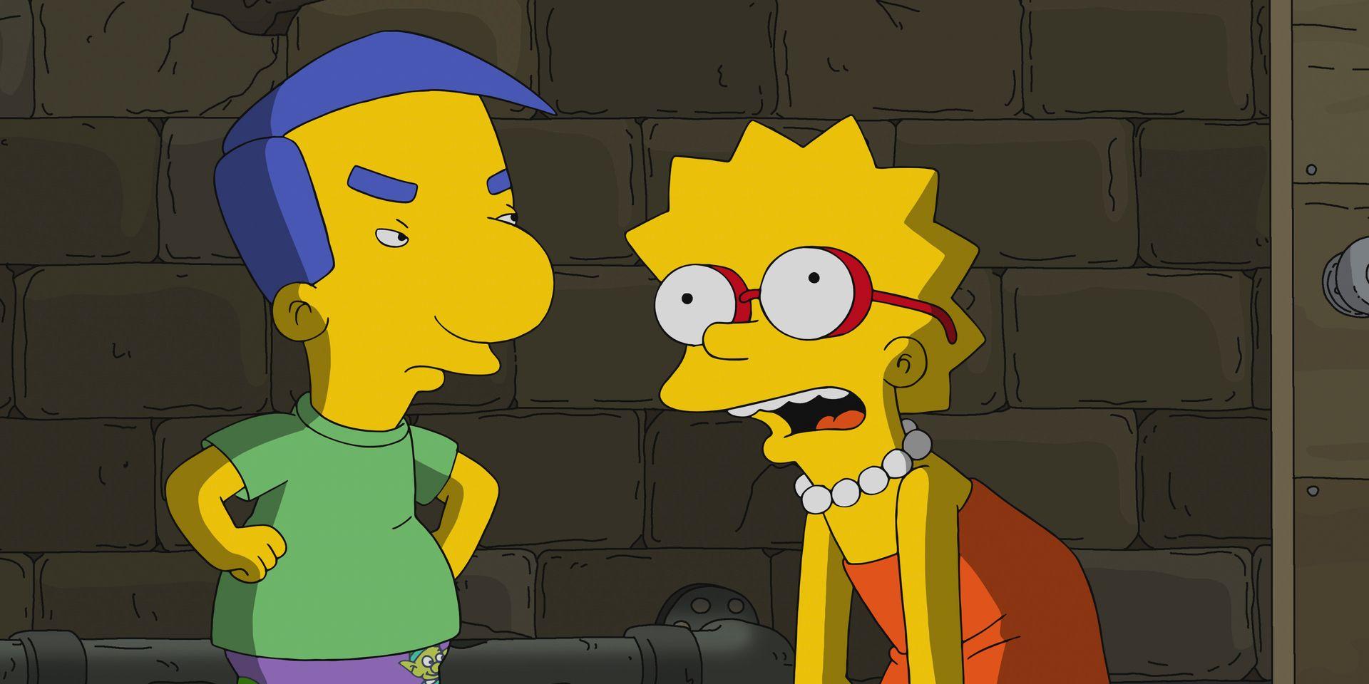 Os Simpsons: a inspiração surpreendentemente sombria para o nome de Milhouse 1