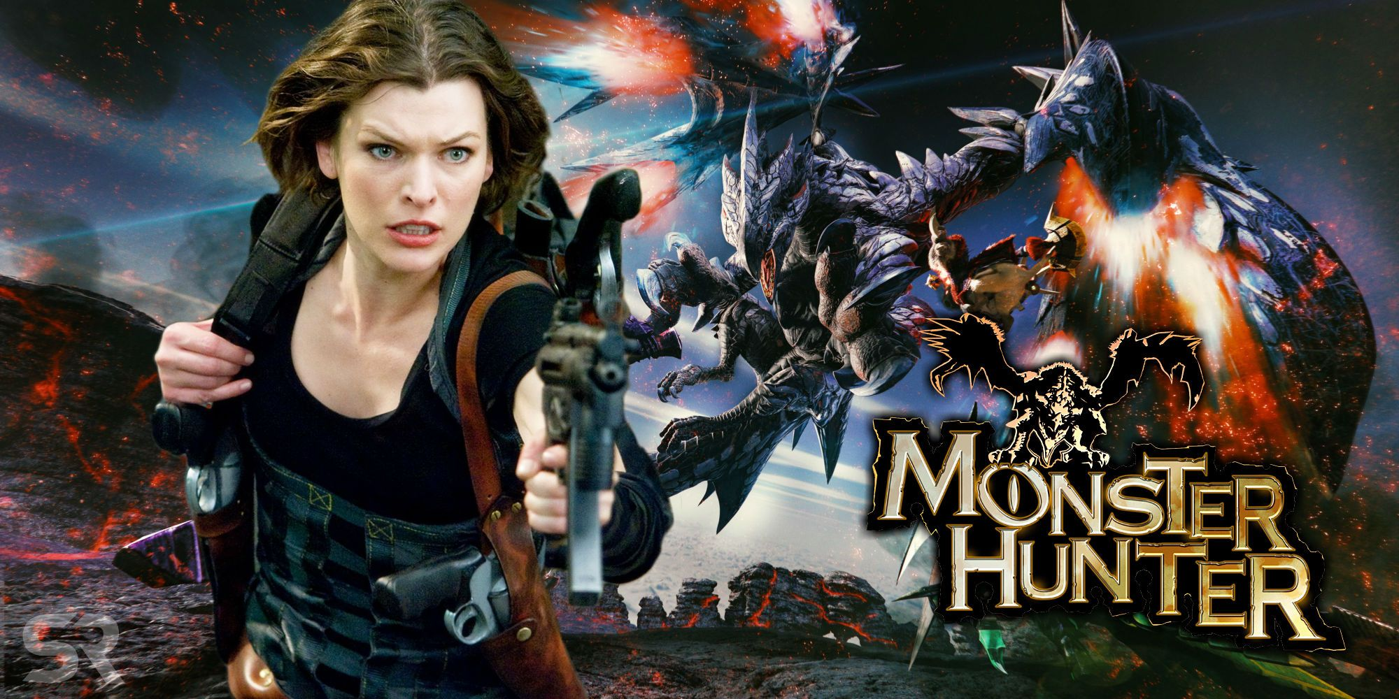 Monster Hunter Milla Jovovich Posts First Image From Movie Set
