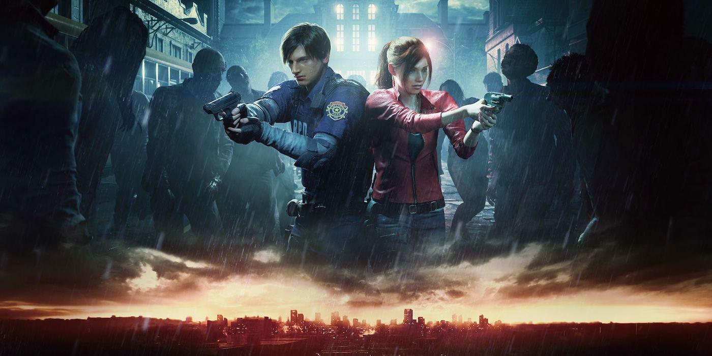 Resident Evil 2 Remake Löwenstatue