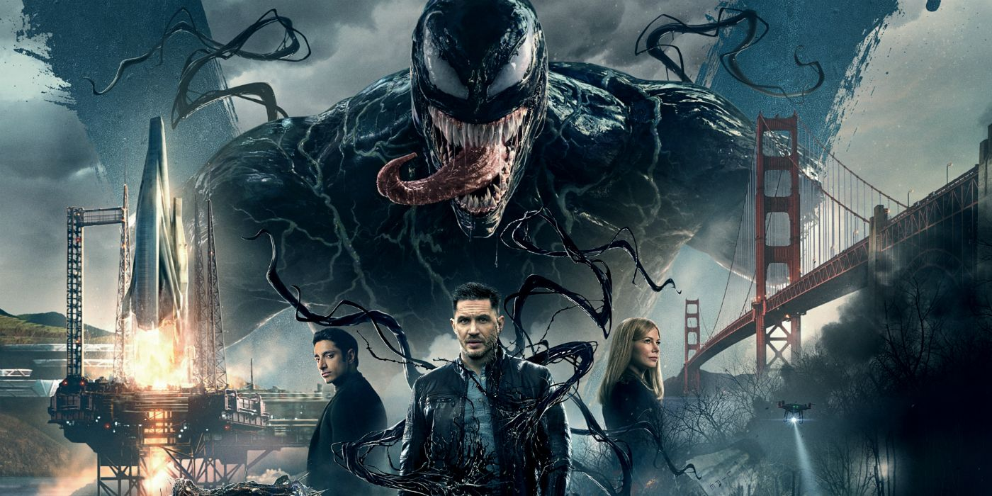 2018 Movie Posters: Venom Early Reactions: Tom Hardy's Movie Belongs In The 2000s