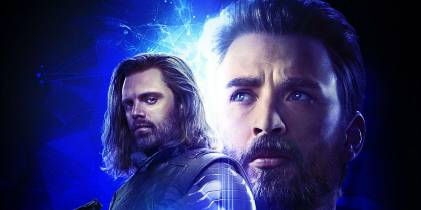 Infinity War Art Images Show Steve Rogers' Nomad Look & Bucky's Short Hair