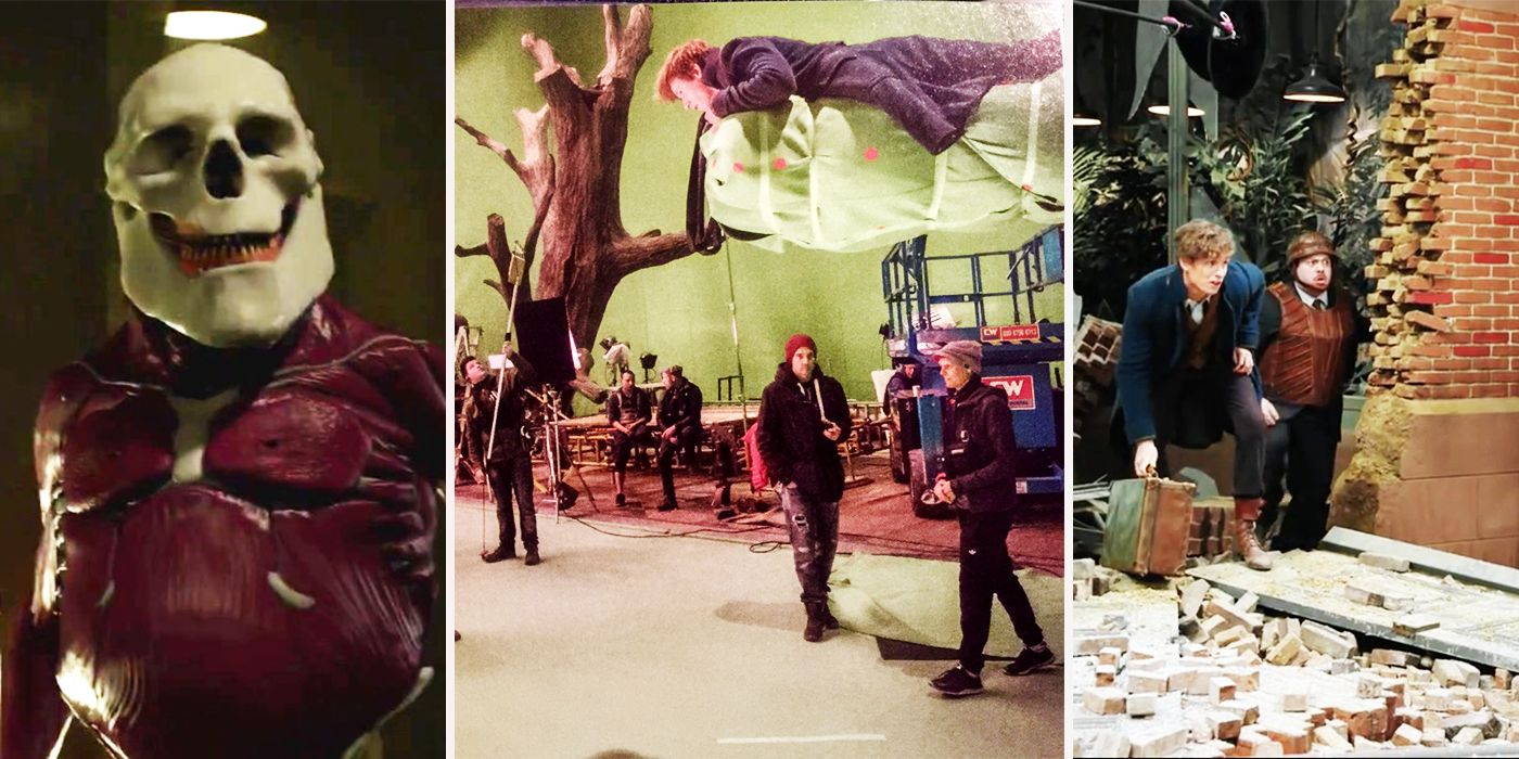 Fantastic Beasts 25 Behind The Scenes Photos That Change