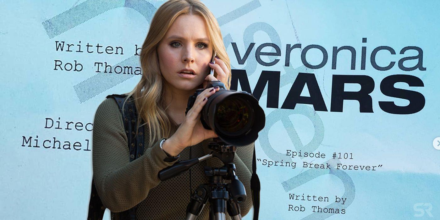Kristen Bell Shares First Look at Veronica Mars Revival Script