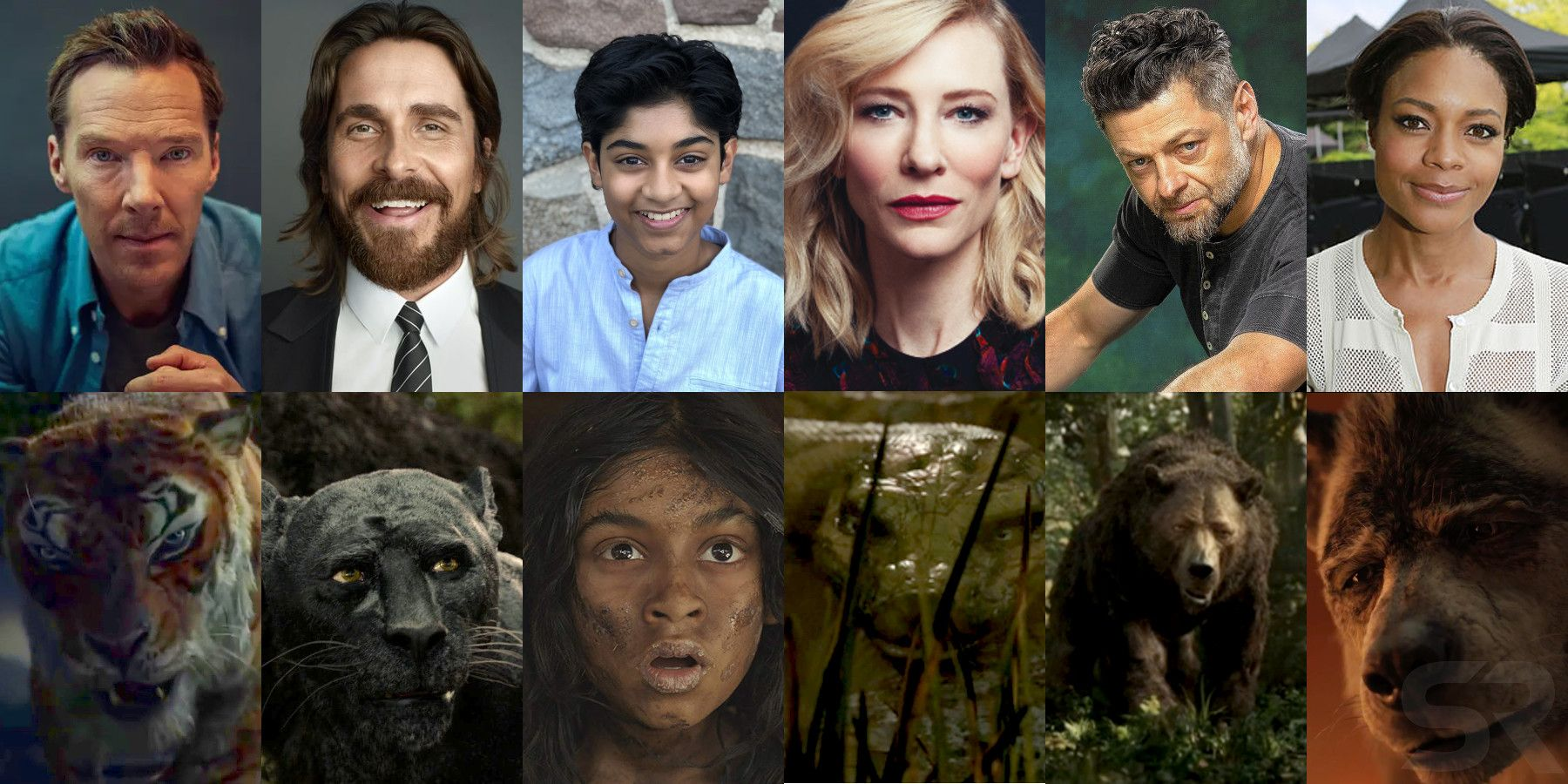 Netflixs Mowgli Voice Cast Character Guide Screenrant