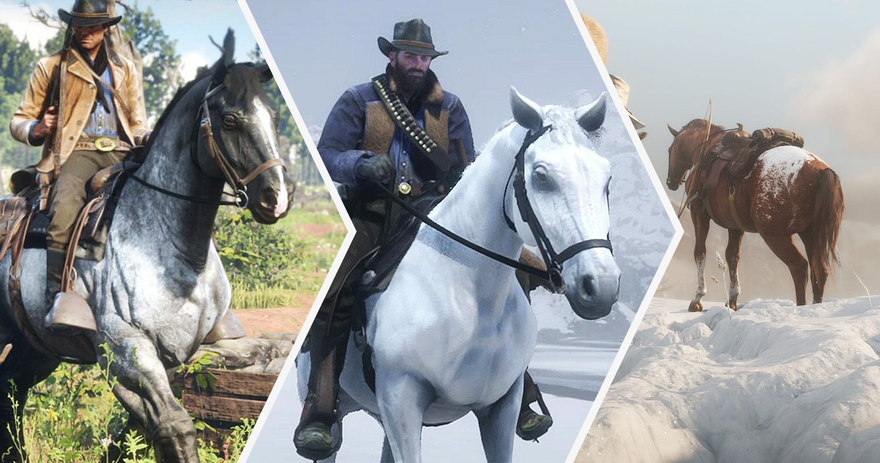 Red Dead Redemption 2: 19 Horses Ranked, Worst To Best