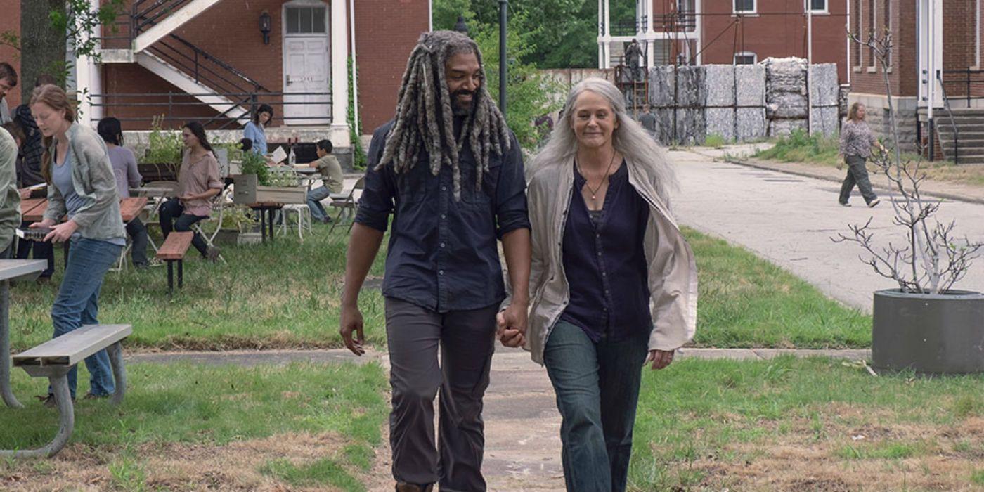 Αποτέλεσμα εικόνας για carol walking dead season 9