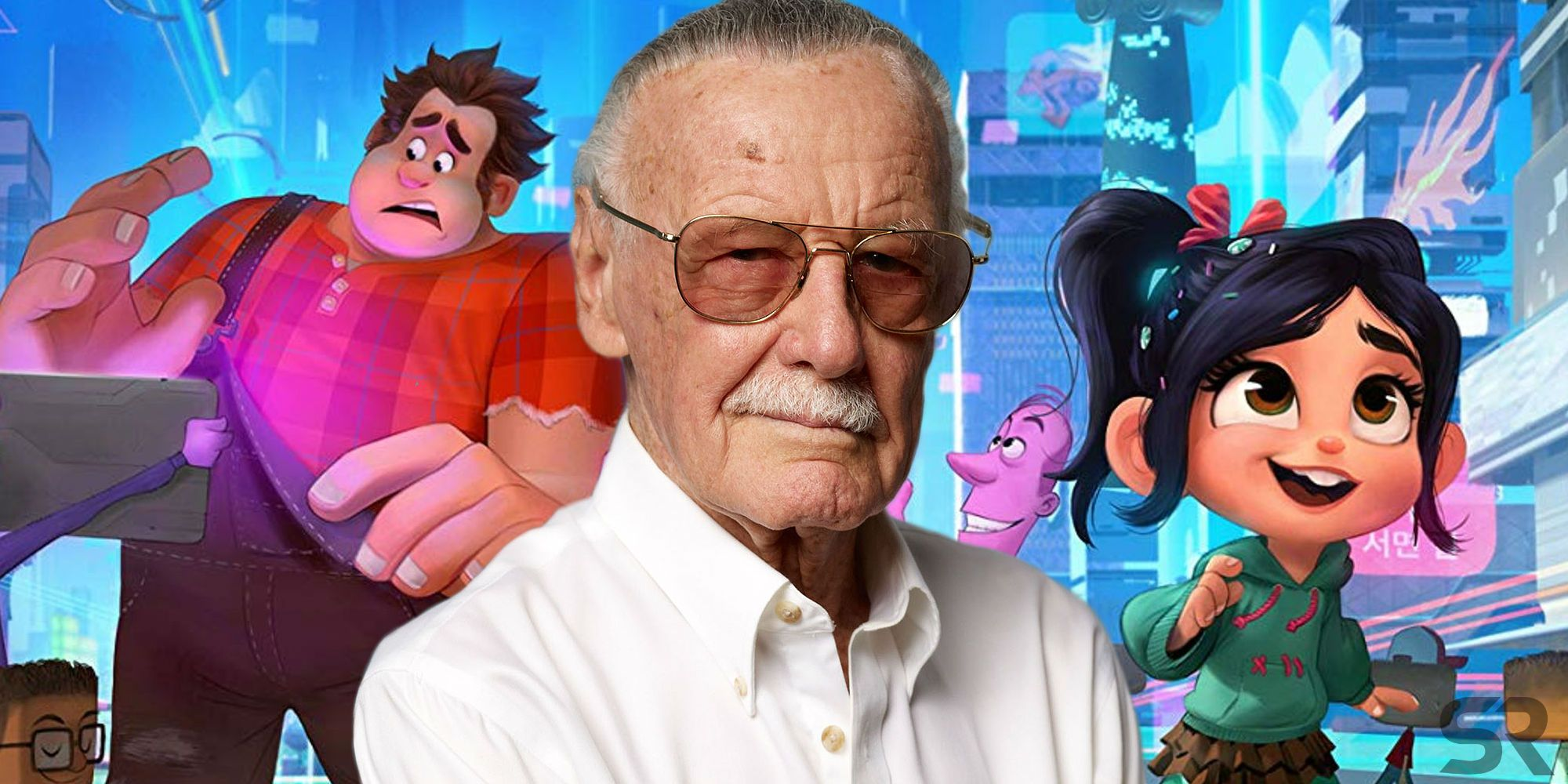Image result for wreck it ralph stan lee