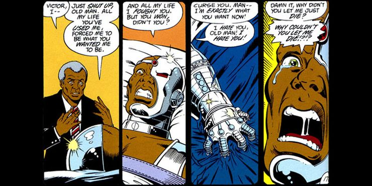 Why Cyborg Is In The Doom Patrol Tv Show But Not The Comics