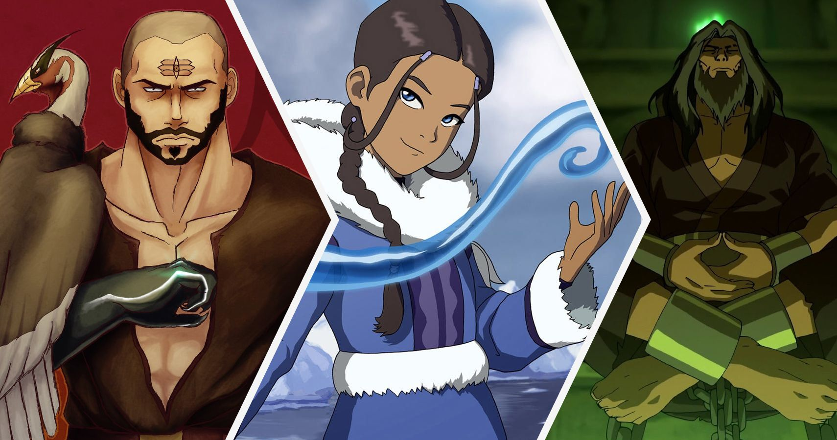 Avatar Azula Mai Ty Lee 10 legend of korra and last airbender characters powerful