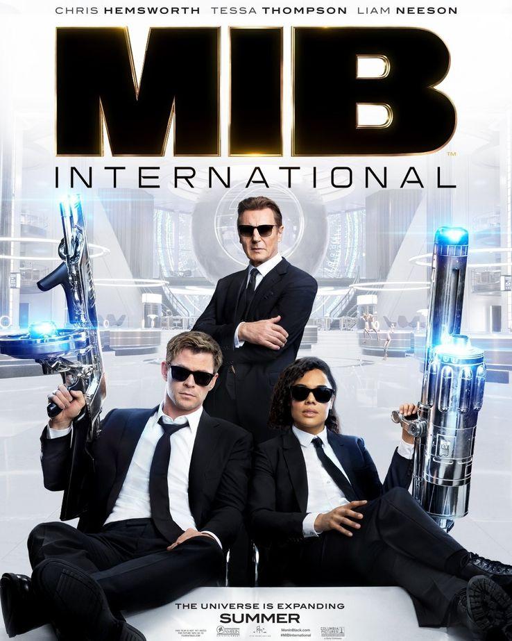 Men In Black : INTERNATIONAL Men-in-Black-International-poster