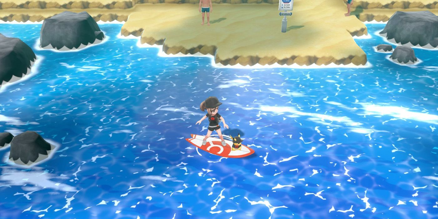 Pokemon Let's Go: How to Get Surf & Sea Skim Secret Techniques