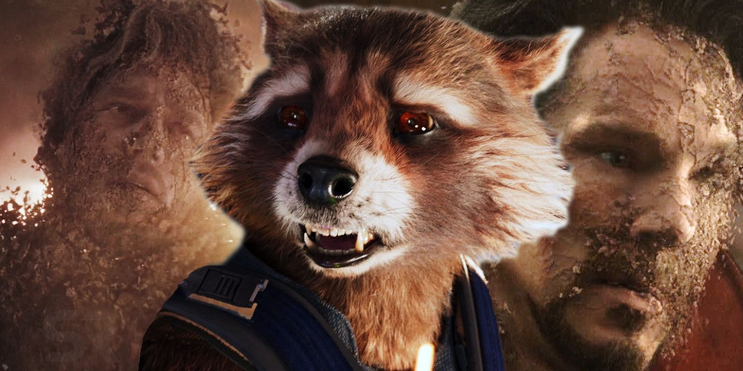 Will Rocket Raccoon Take The Blame For Infinity War ...