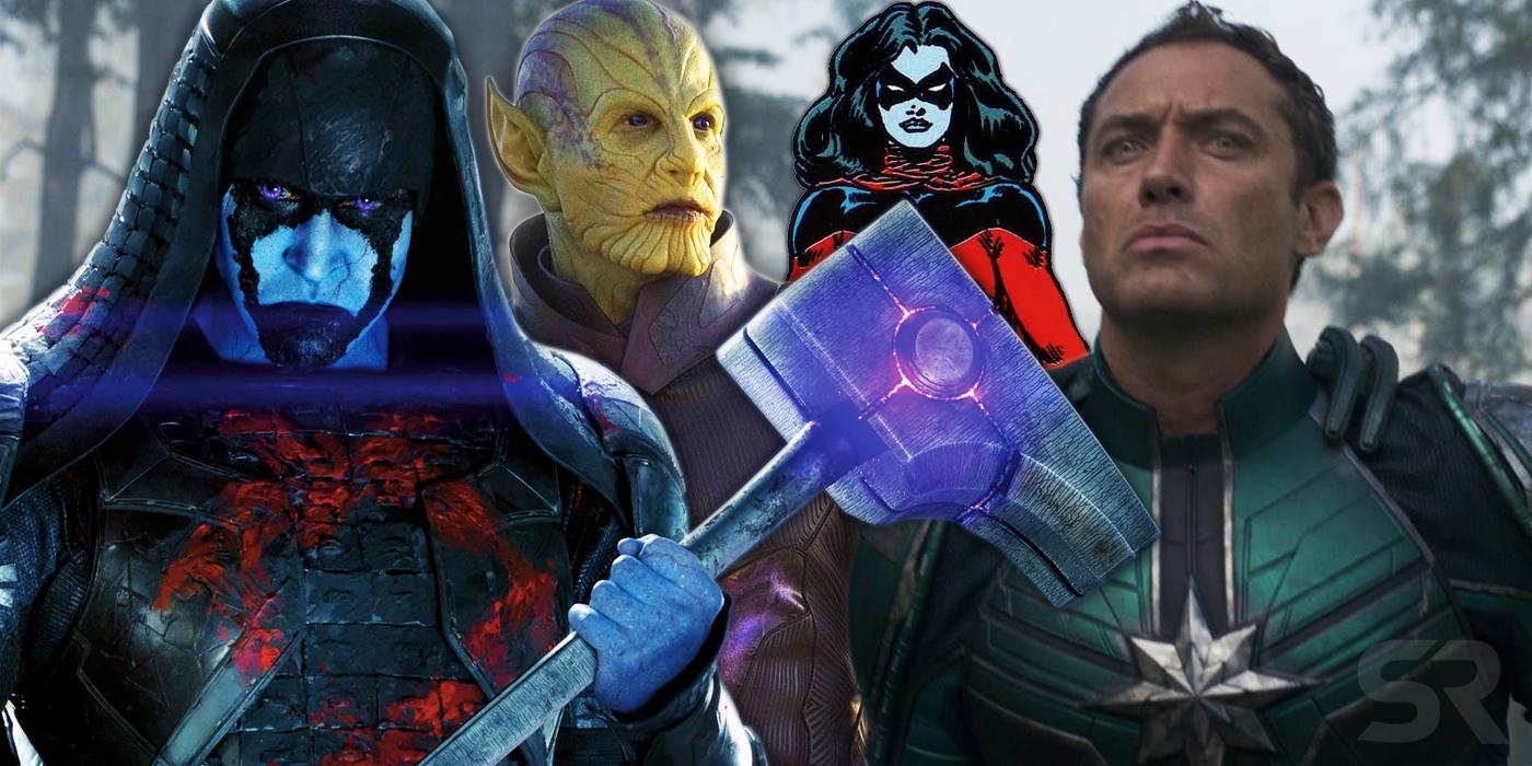 Captain Marvel Movie All Villains Kree & Skrull Explained