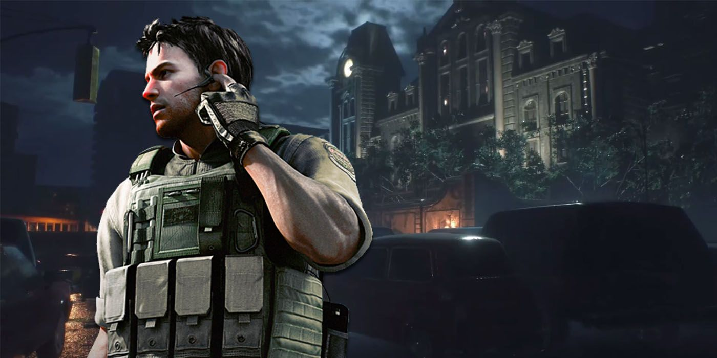 Resident Evil 2 Has A Hidden Chris Redfield Character Model