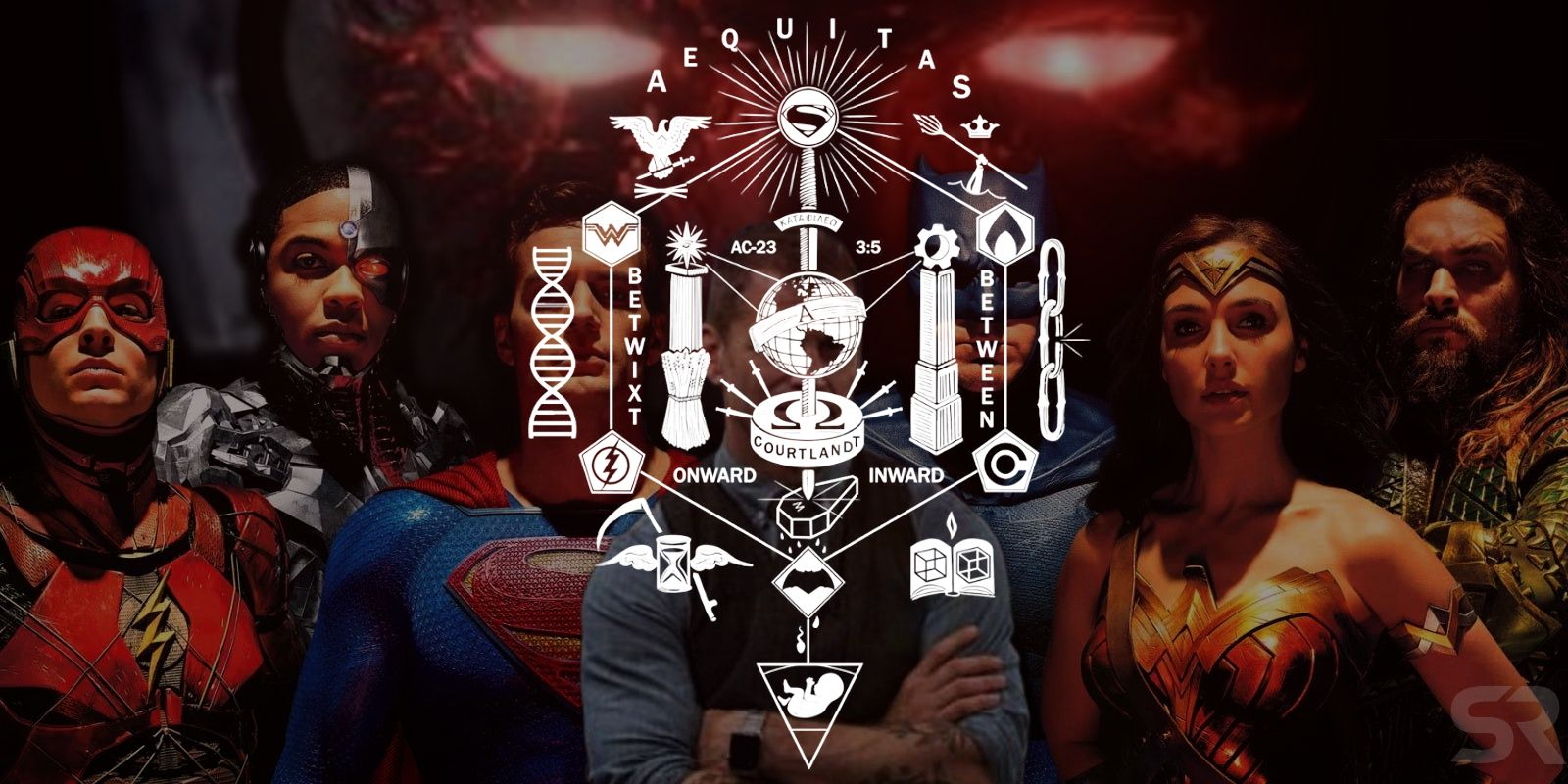 Zack Snyder's Original Justice League Plans Revealed in Cryptic Puzzle