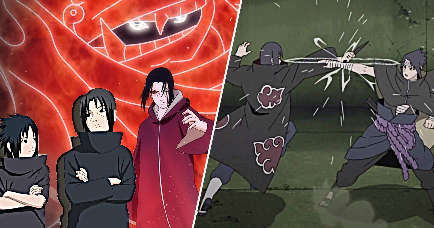 Naruto: 25 Things Itachi Can Do (That Sasuke Can't ...