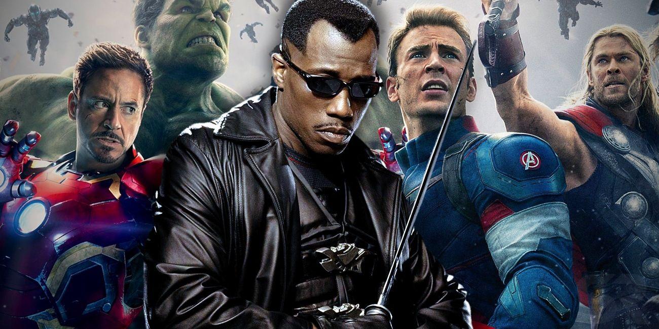 Blade the Vampire Hunter Joins Marvel's Avengers   ScreenRant