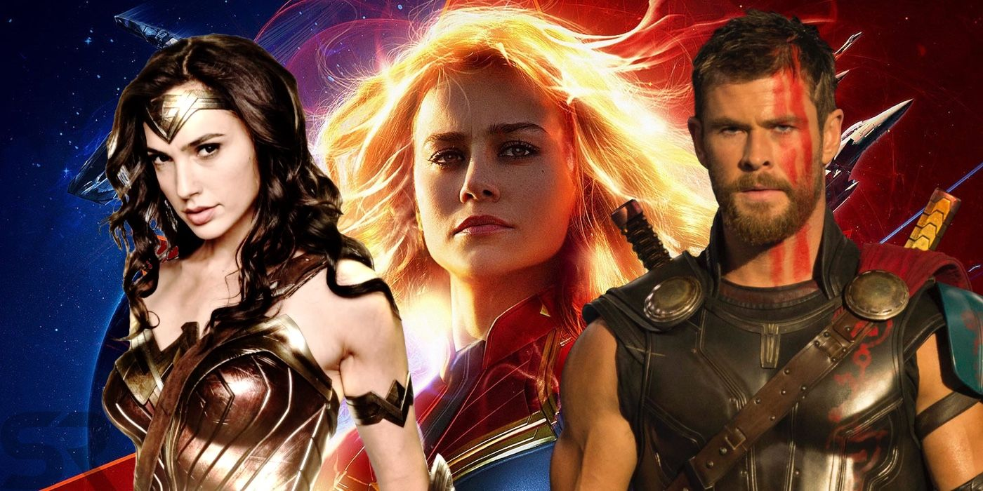 Captain Marvel Imax Presales Tracking Ahead Of Wonder Woman Thor 3