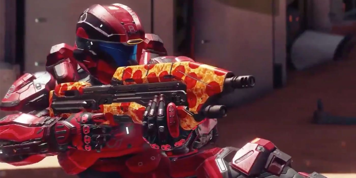 Halo 5 Gets Free Pizza Skin To Celebrate Master Chief Collection