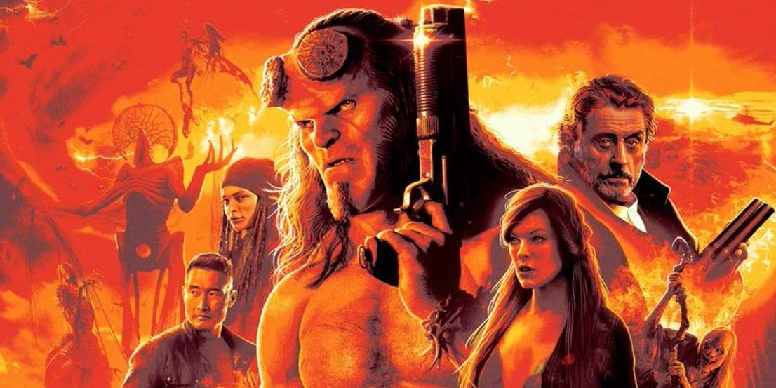 Hellboy (2019) Posters Spotlight the Reboot's Monsters
